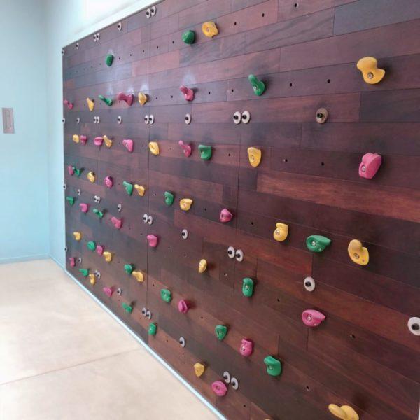 壁に設置されているボルタリング
