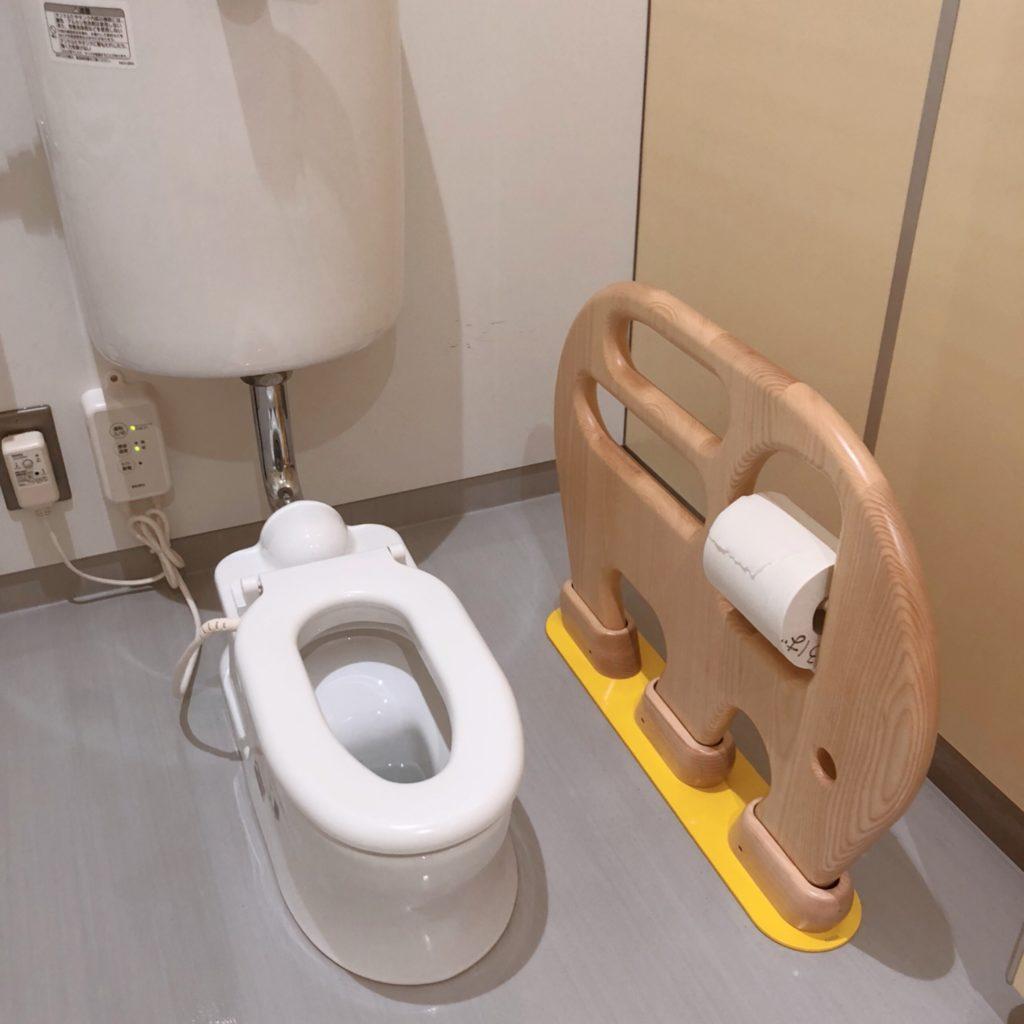 えみふるのキッズ用トイレ