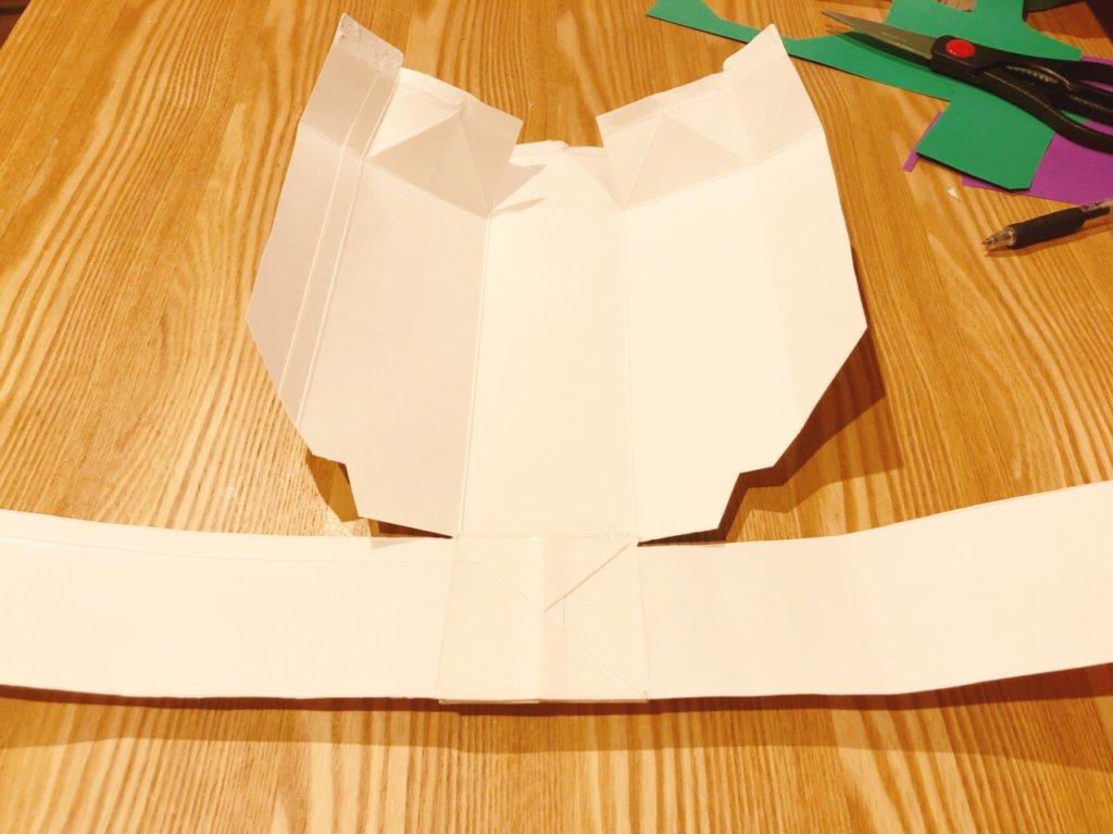 シンカリオンの手作り衣装・胴