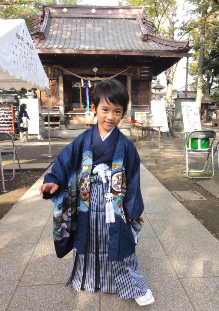 袴の男の子