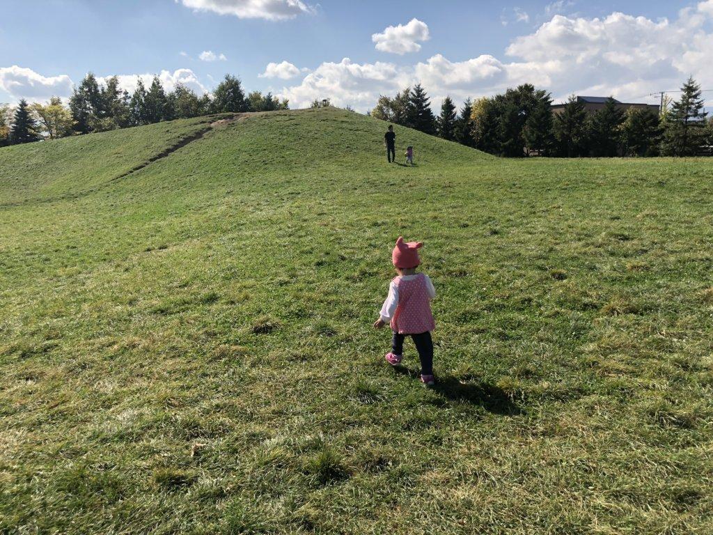 屯田公園の丘