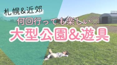 札幌近郊の大型公園・子ども向け遊び場集【アウトドア編】