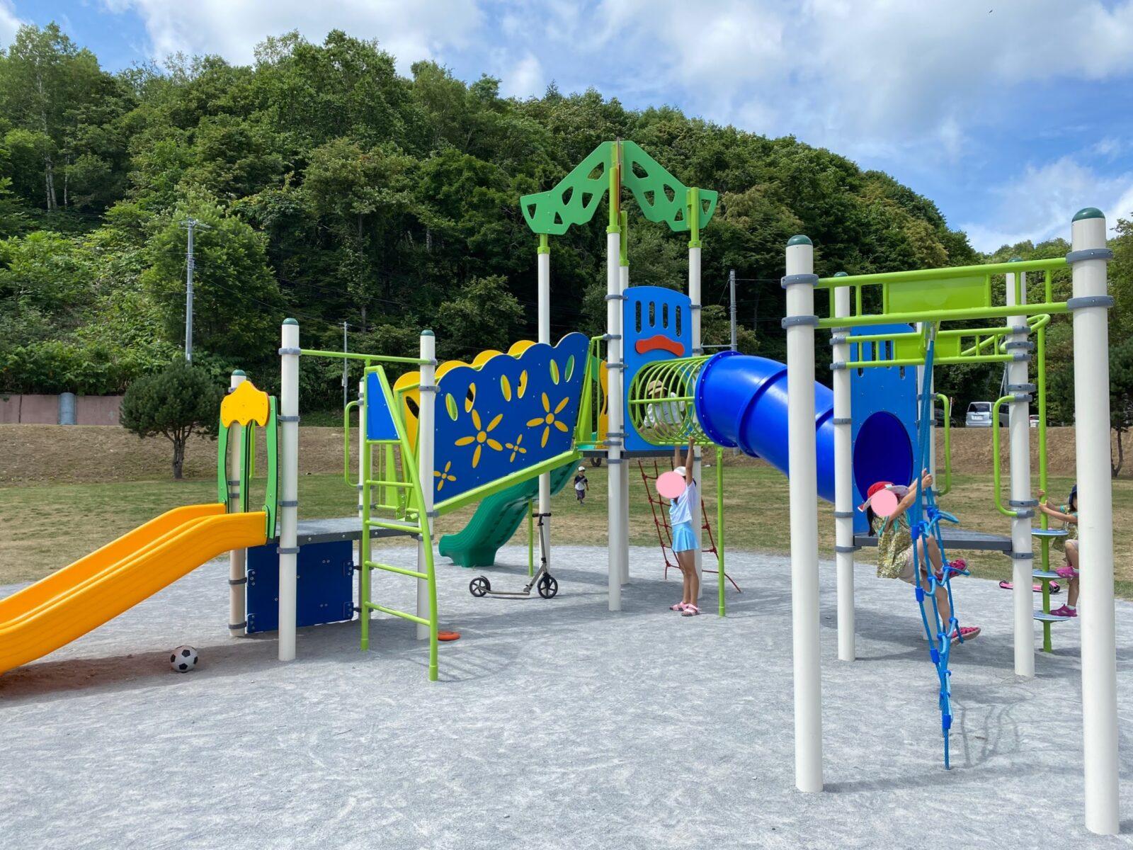 厚田公園キャンプ場 遊具 子ども 遊び場