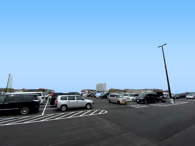 コストコ石狩駐車場