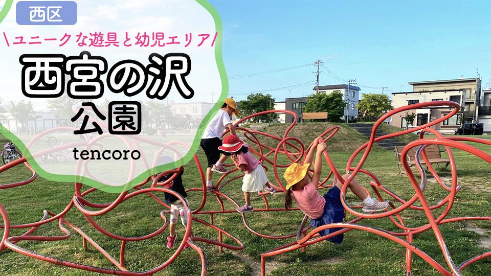 西宮の沢公園 札幌 大型公園 遊具