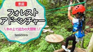 恵庭フォレストアドベンチャー ブログ札幌 アスレチック 北海道 口コミ